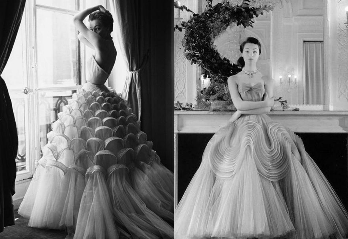 Слева - самое знаменитое платье Гриффа.