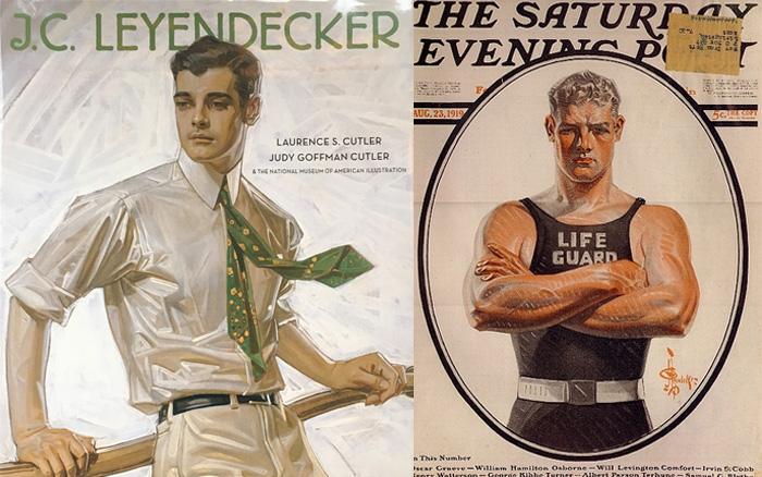 На левой иллюстрации - Чарльз Бич.