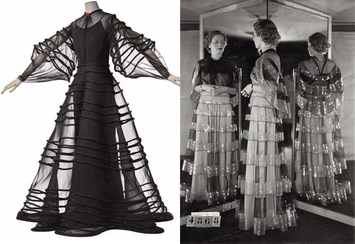 Все платья от Вионне фотографировали с трех ракурсов.