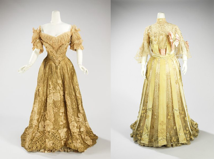Платья от Жака Дусе.