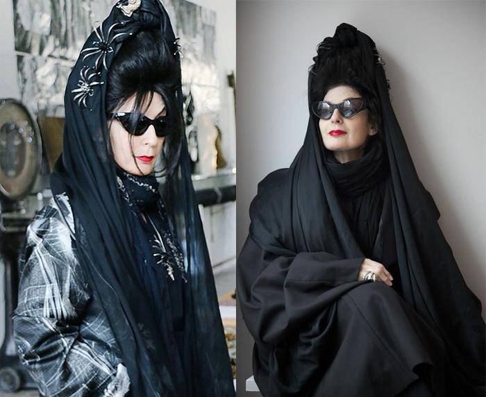 Модный критик, парфюмер, дизайнер и немного ведьма Диана Перне.