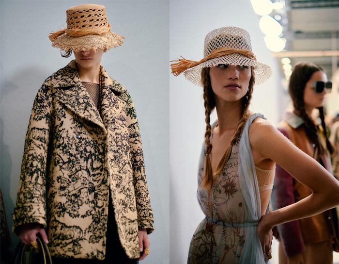 Соломенные шляпы - непременный атрибут садовниц.