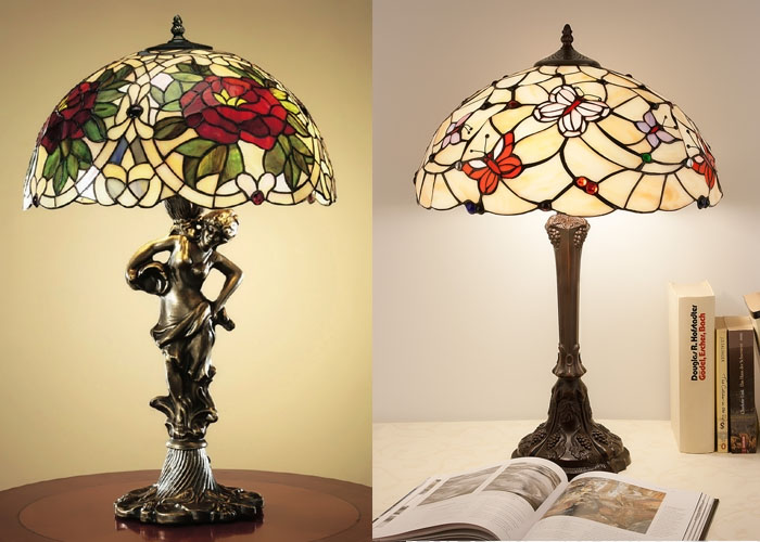 Лампы Тиффани.