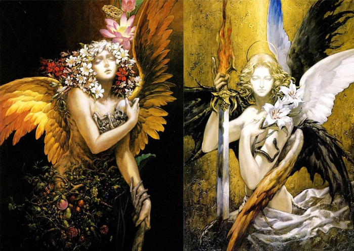 Мрачные ангелы Аями Кодзимы.