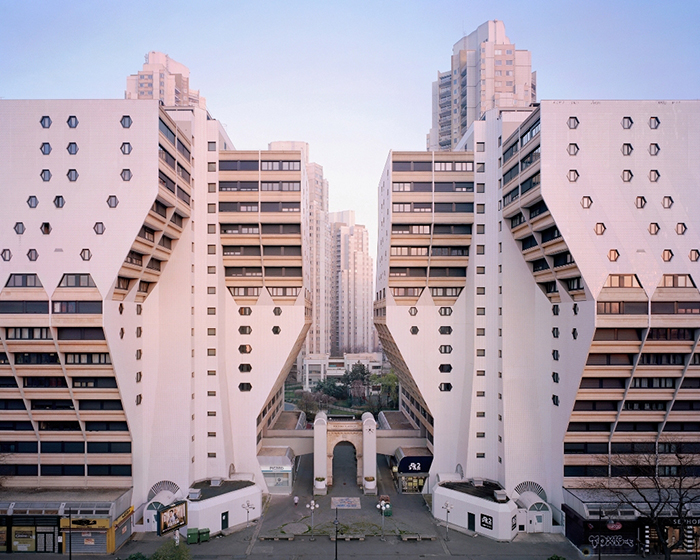 Жилой комплекс Les Espaces d'Abraxas.