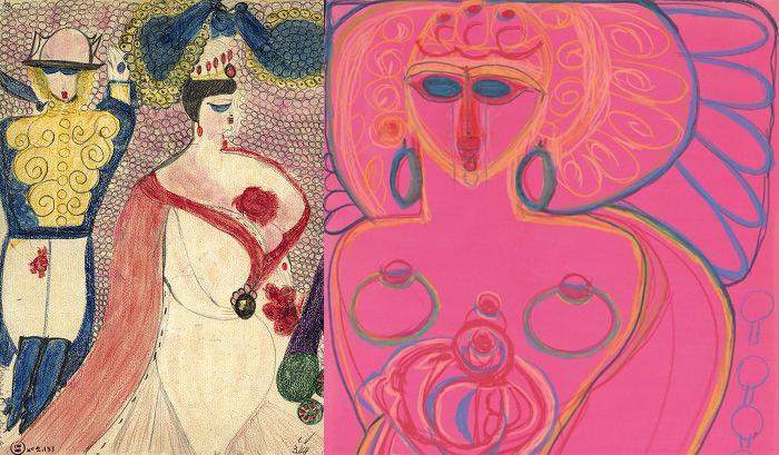 Коллекционеры и художники видели в работах Алоизы новое, не стесненное рамками искусство.