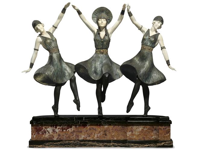 Танцовщицы.