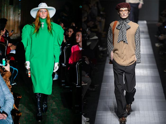Огромные очки стали визитной карточкой новой эпохи Gucci.