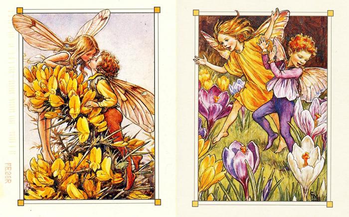 Книжные иллюстрации Сесиль Баркер.