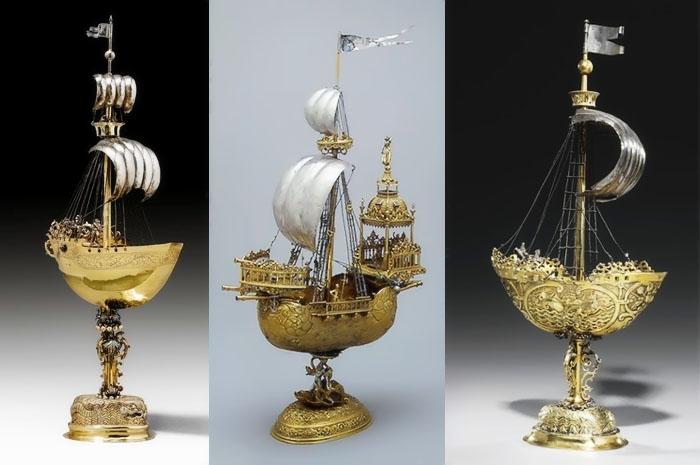 Корабли-нефы, мастера Вольф и Линден