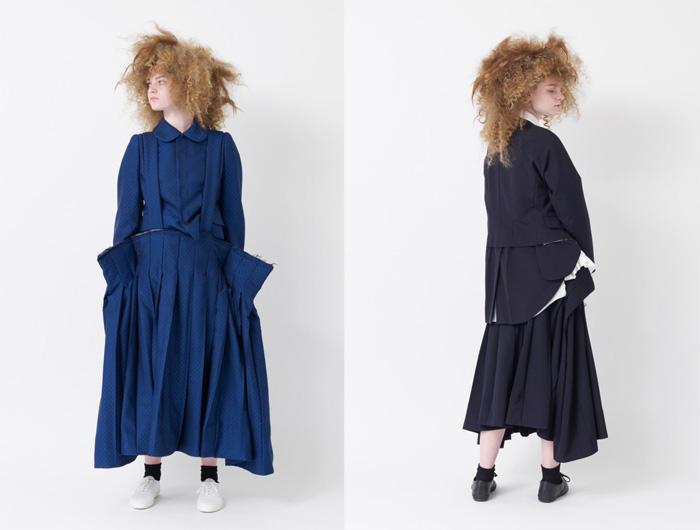 Рей Кавакубо создает образы независимых женщин.