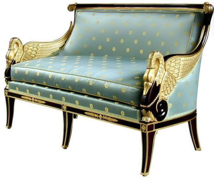 Мебель стиля ампир.