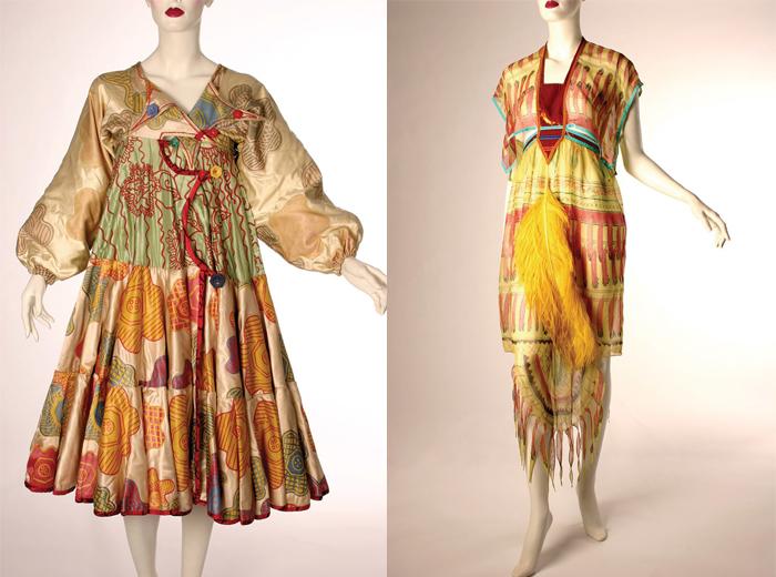 Принты на платьях авторства Роудс.