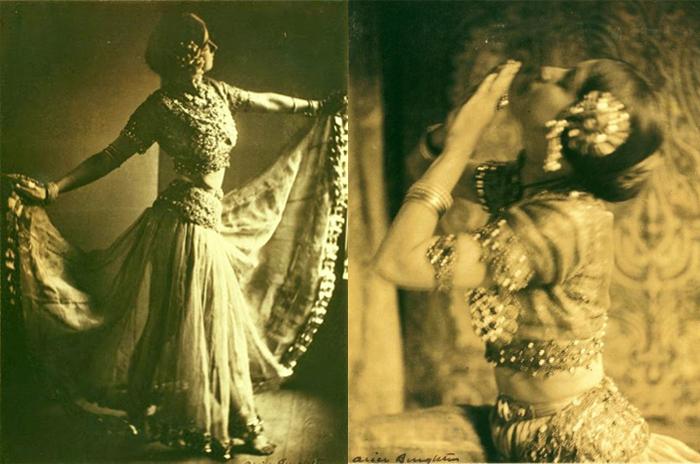 Элис увлеклась эстетикой модерна в фотографии.