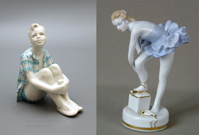 Юный мечтатель и Юная балерина.