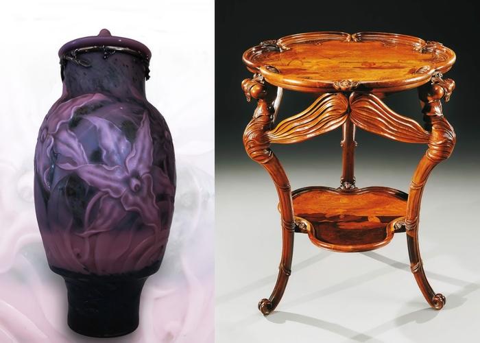 Галле создавал не только вазы, но и мебель.