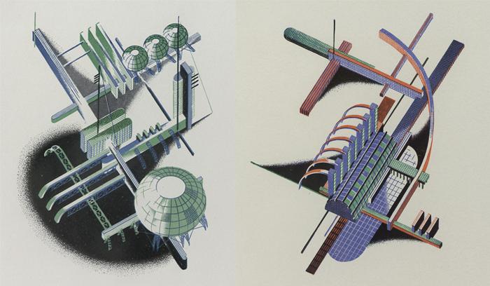 Чернихов использовал графику для обучения архитекторов.