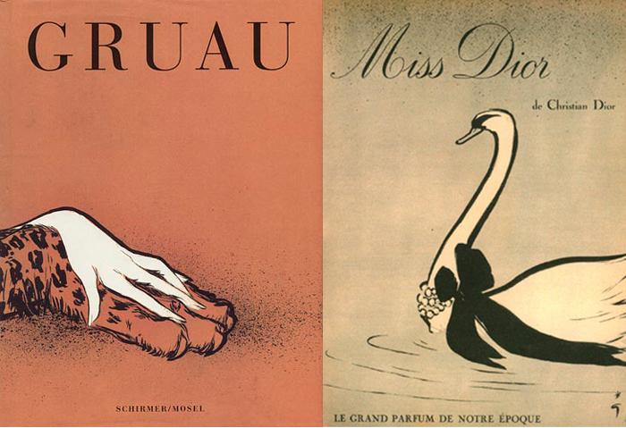 Грюо как иллюстратор был лаконичен и изобретателен.