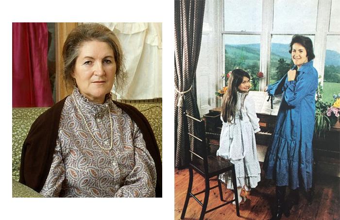 Лора Эшли. Лора с дочерью в их доме в Уэллсе.