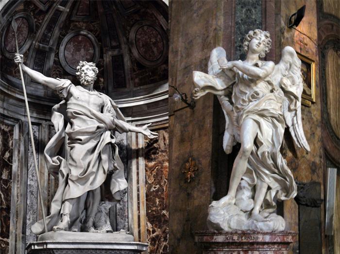 Скульптуры Лоренцо Бернини.