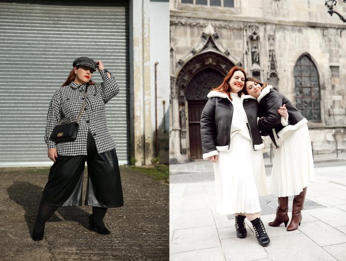 Справа - Стеф с сестрой. Они часто фотографируются в одинаковой одежде.
