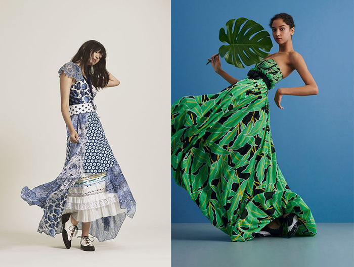 Модели из новых коллекций бренда.