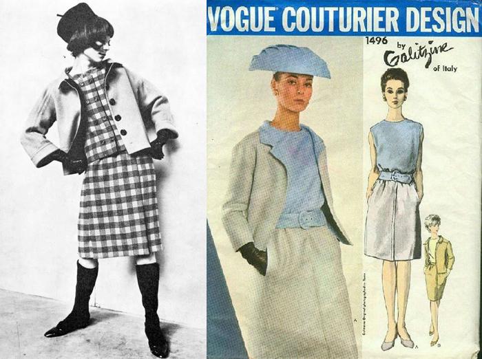 Реклама моделей модного дома Ирен Голицыной.