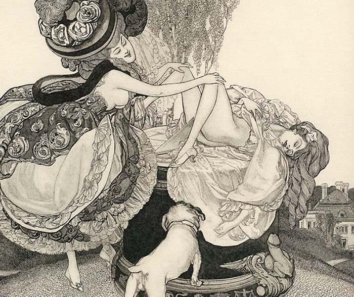 Эротическая графика Франца фон Байроса.