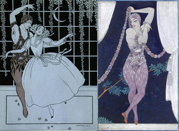 Танцовщики русского балета.