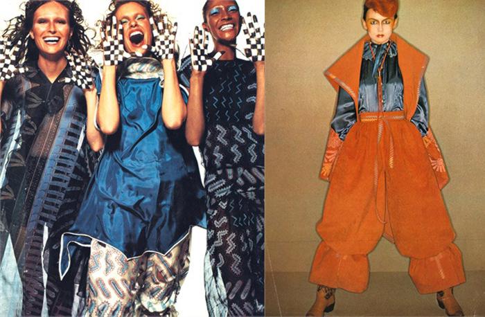 Модели Зандры были экстравагантными с самого начала.