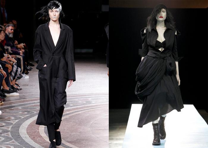 Одежду от Ямамото оценили представители творческих профессий.