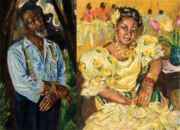 Лоис изображала и темные, и радостные моменты истории афроамериканцев.