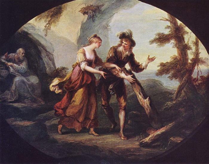 Миранда и Фердинанд.