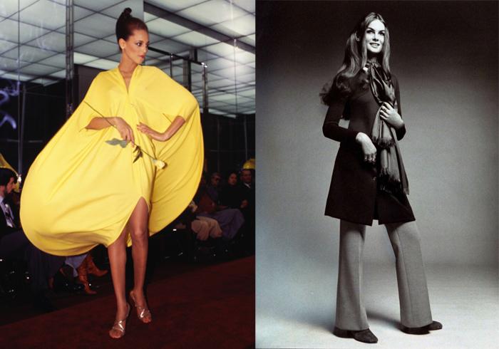 Платье из единого куска ткани. Кафтан и брюки.