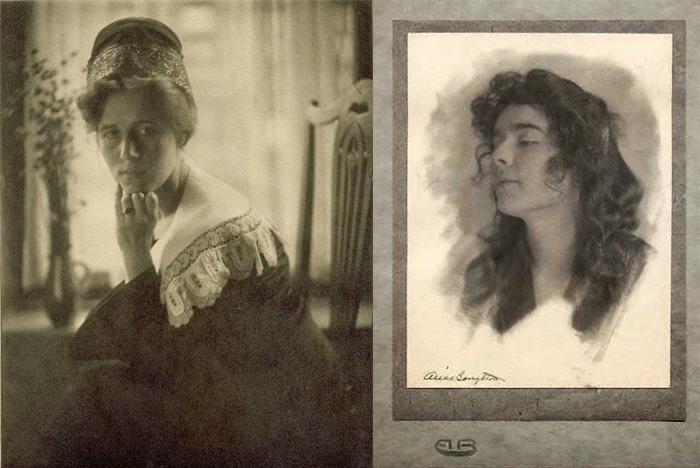 Портреты работы Элис Боутон.