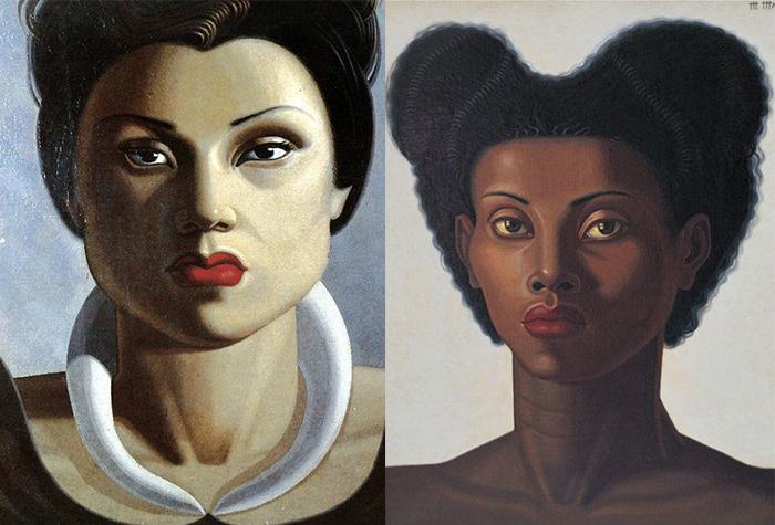 Женские портреты.