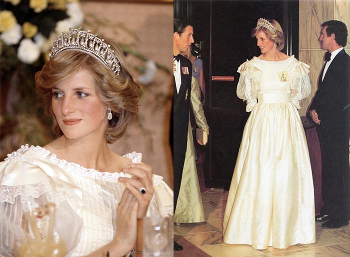 Свадебное платье принцессы Дианы.
