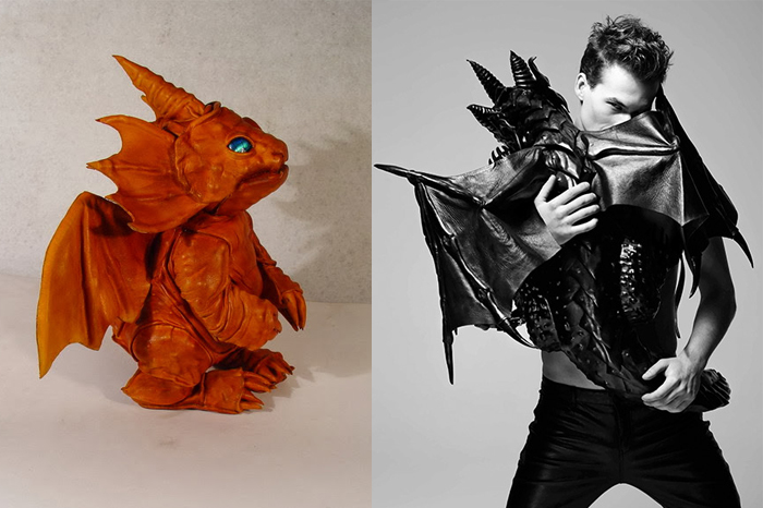 Драконы от Bob Basset бывают разными.