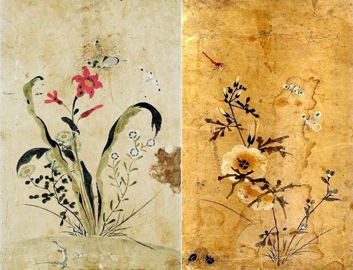 Работы с изображениями цветов.