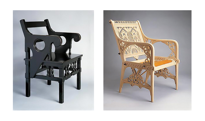 Мебель, спроектированная Дрессером.