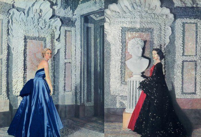 Вечерние платья, созданные Жаком Гриффом.