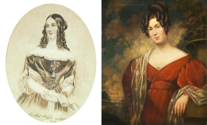 Очаровательные портреты, написанные Сарой.