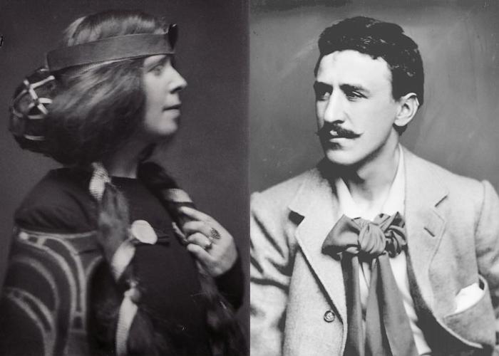 Маргарет Макдональд и Чарльз Ренни Макинтош.