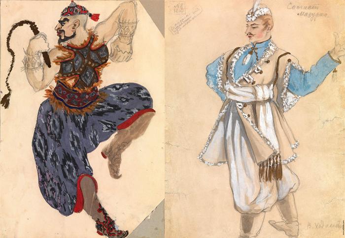 Театральные костюмы.