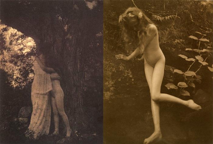 Отсылки к викторианской сказочной живописи.