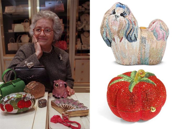 Джудит Лейбер и ее сумочки.