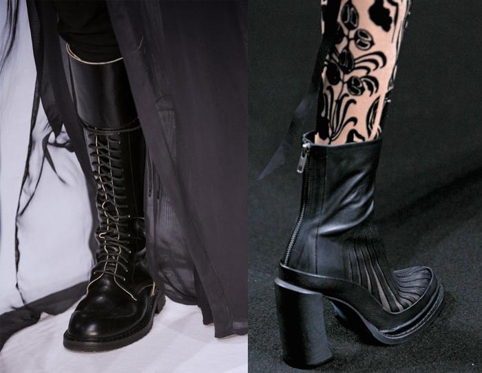 Обувь от Анн Демельмейстер.