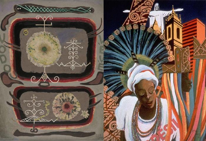 Дизайн и живопись Лоис Мейлу Джонс.