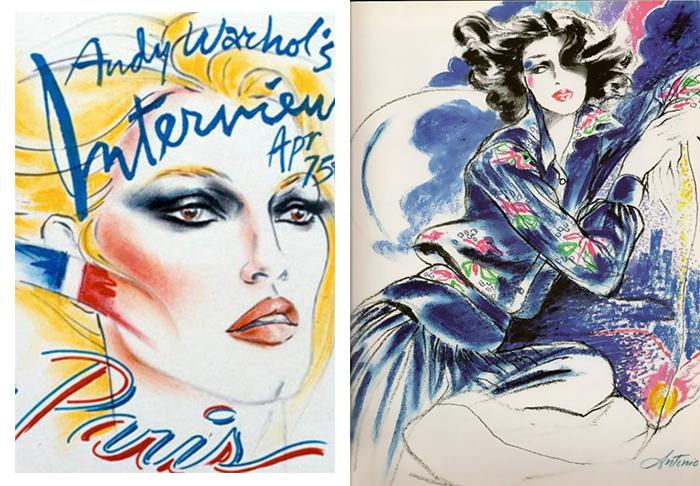 Тем не менее, Лопес рисовал обложки для журнала Энди Уорхола Interwew.