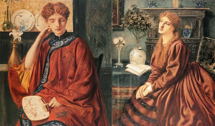 Утонченные женские портреты.